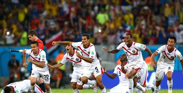 哥斯达黎加总统欢呼晋级:我们创造了历史!