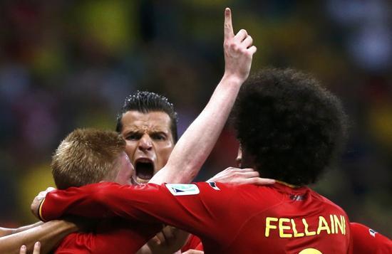 39次射门!3分钟1射 如此比利时阿根廷怕吗?