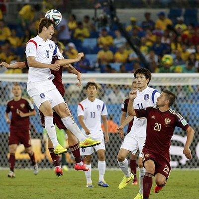 俄罗斯1-1韩国-太极虎首轮不胜失良机