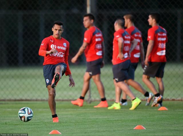 智利放弃赛前踩场训练 欲用心理战摧垮西班牙