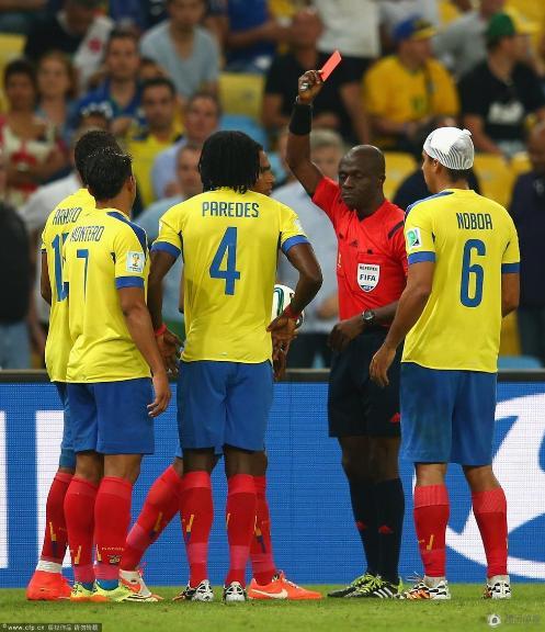 悲催!厄瓜多尔无缘16强 成唯一出局南美球队