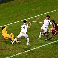 俄罗斯科尔扎科夫补射得手扳平比分