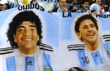 梅西复制马拉多纳轨迹 踏上世界杯封神之路