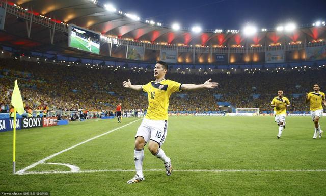哥伦比亚主帅:罗德里格斯决定胜利 不惧巴西