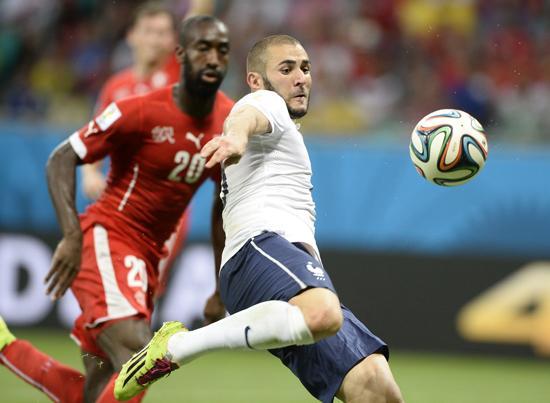 E组末轮:法国输3球也铁定出线 瑞士仍握主动