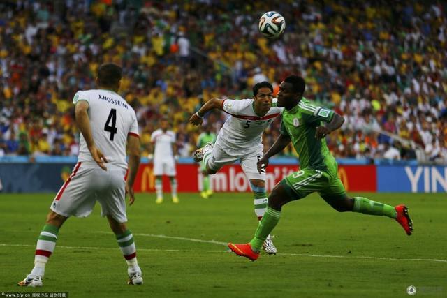 世界杯-伊朗0-0尼日利亚 最沉闷比赛首送平局