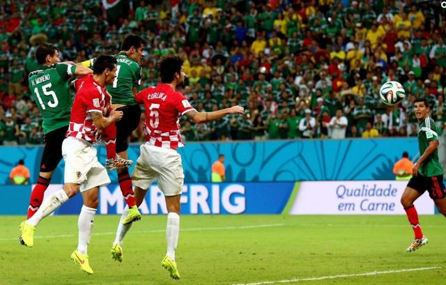 世界杯-墨西哥3-1克罗地亚 连续6届晋级16强