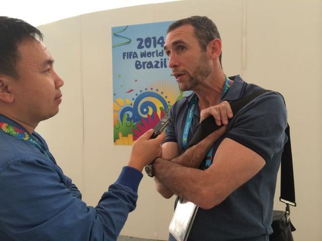 专访基翁:世界杯需东道主留下 塞萨尔是英雄