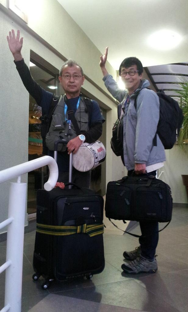 媒体同仁欢聚世界杯开幕式 邂逅日本兄弟记者