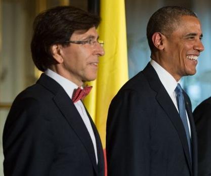 啤酒做赌注 比利时首相挑战奥巴马