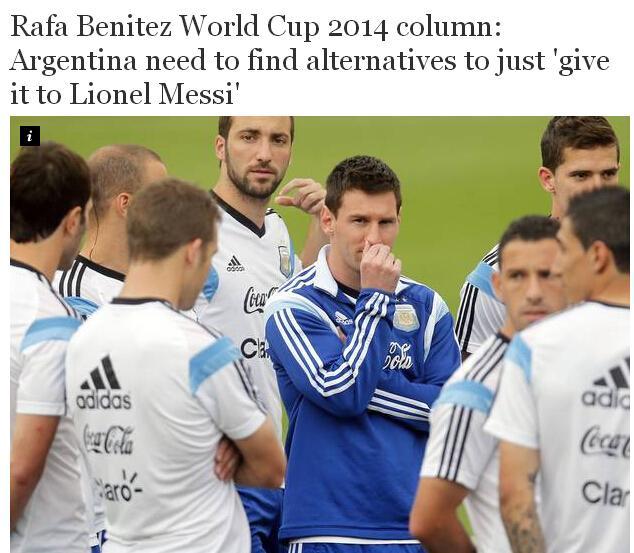 贝尼特斯:防住梅西的左脚 本泽马是最大威胁
