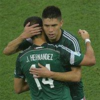 高清:墨西哥1-0喀麦隆 小豌豆替补上场