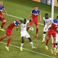 美国布鲁克斯最后时刻头球破门绝杀加纳
