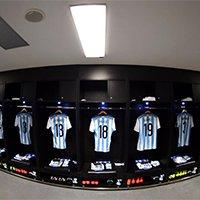 阿根廷更衣室局部一览
