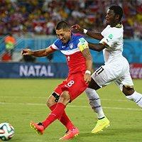 美国邓普西打入本届世界杯最快入球