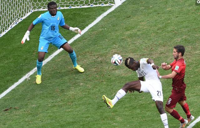 半场-葡萄牙1-0领先加纳 博耶不慎乌龙送大礼