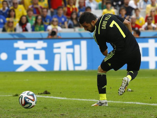 比利亚:愿为西班牙踢到55岁 盼有人破我纪录