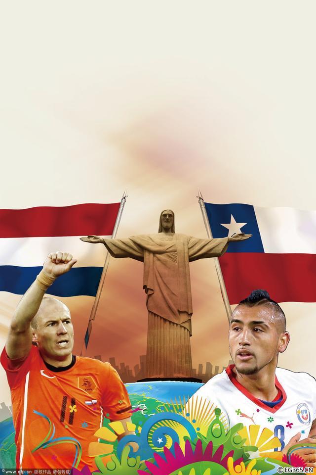 荷兰VS智利前瞻:争头名规避巴西 范佩西停赛