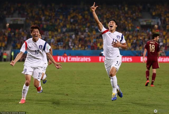 世界杯-俄罗斯1-1战平韩国 亚洲四强首轮不胜