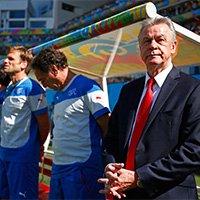 瑞士队主教练希斯菲尔德