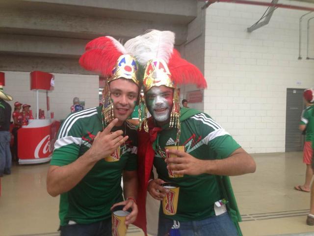 球迷对决:完爆克罗地亚 巴西成墨西哥第2主场