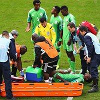 尼日利亚奥博亚博纳被抬出场外