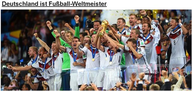 德媒盛赞格策是足球之神 在南美夺冠开创历史