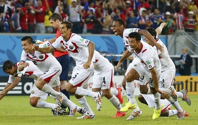黑马狂奔不止 八强!哥斯达黎加创球队新历史