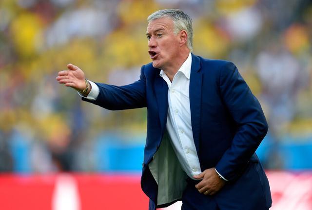 德尚:球队很团结输球只欠运气 看好德国夺冠