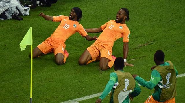 德罗巴征服全世界:主宰比赛 他仍是非洲最佳
