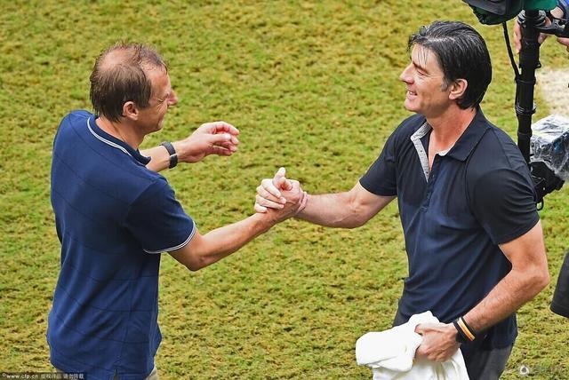 勒夫和克林斯曼:挚友更是对手 不默契是尊重