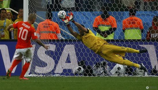 世界杯金手套候选:黑马天神 阿根廷德国中坚