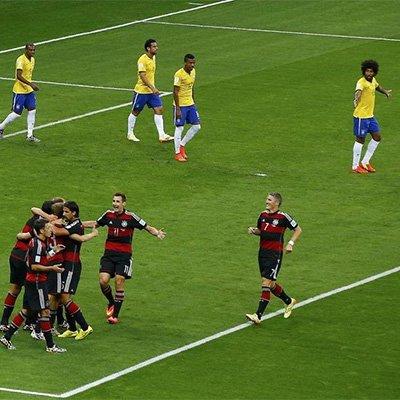 德国7-1碾压巴西进决赛 K神16球超大罗