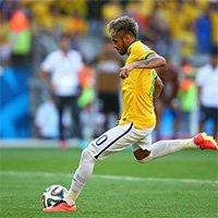 内马尔稳稳将巴西最后一粒点球罚进