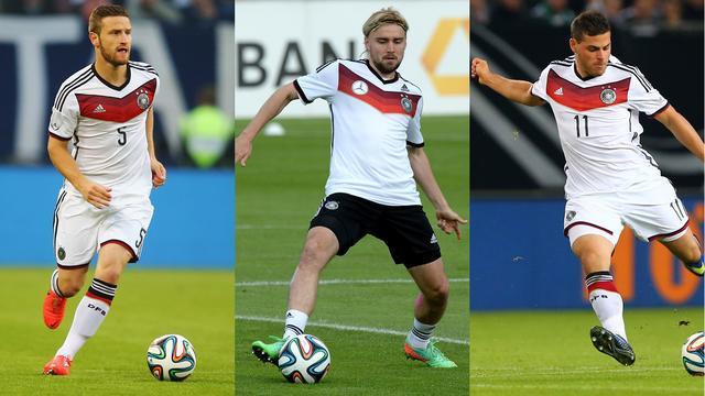 德国23人名单:1前锋4菜鸟 多特左闸意外落选