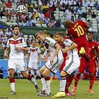 加纳安德烈阿尤抢点头球破门