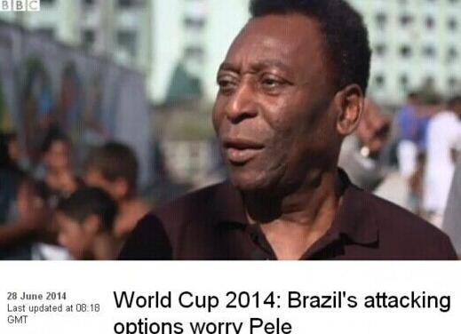 巴西晋级贝利保住贞操 惊险过程险逼球王跑路
