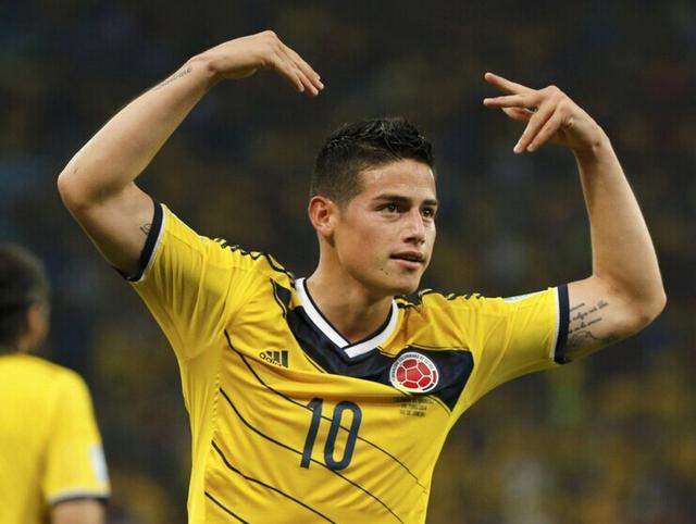 哥伦比亚帝星:期待对决巴西 进球是前锋职责