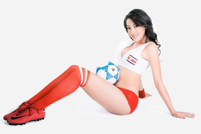 世界杯6月21日美女看彩:意大利胜哥斯达黎加