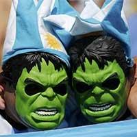 绿巨人再现阿根廷赛场