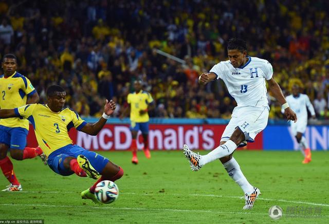 世界杯-洪都拉斯1-2厄瓜多尔 前中甲外援破门