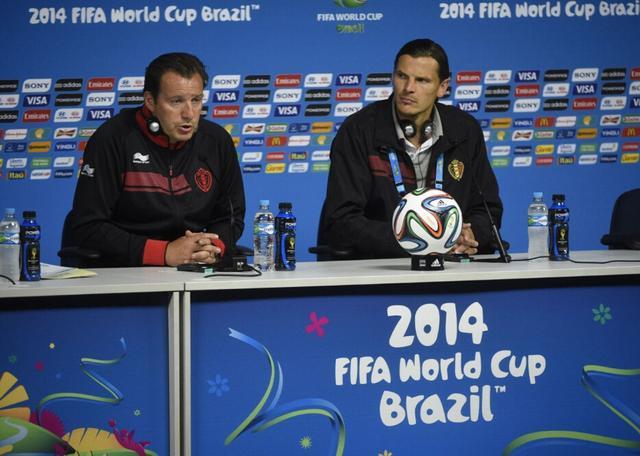 比利时主帅宣布两大将伤缺 避谈比赛放水问题