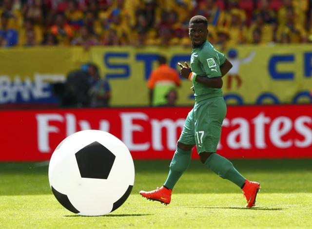 世界杯最快之人来自科特迪瓦 即将加盟阿森纳