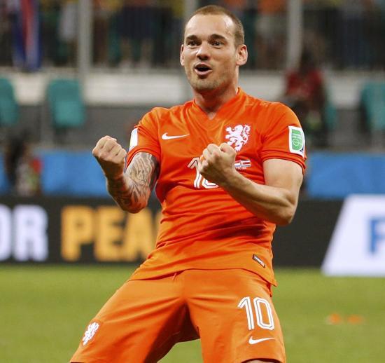 斯内德赞荷兰强大自信 范佩西:梦幻般的换人