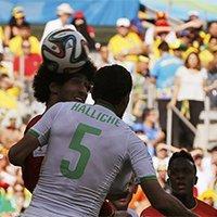比利时费莱尼头球破门扳平比分