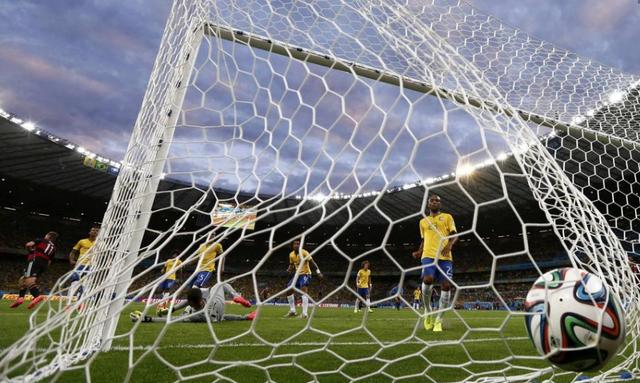 德国世界杯总进球超巴西 狂刷7球逼近一纪录