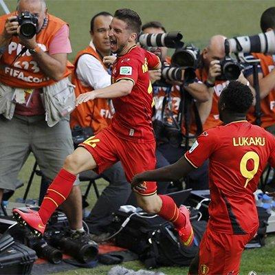 比利时2-1阿尔及利亚 欧洲红魔上演逆转