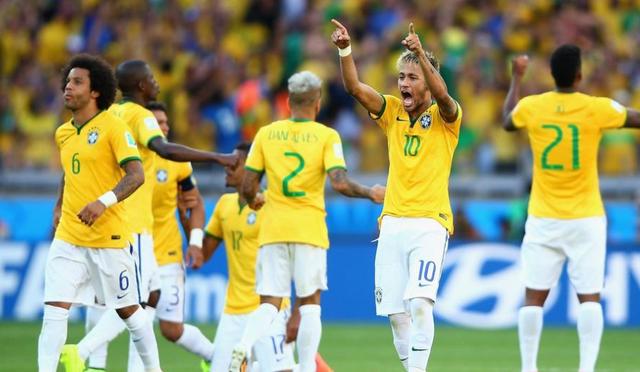 感谢门柱!天佑巴西!门柱惊魂吓死斯科拉里