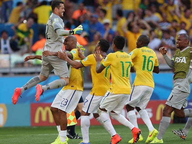 巴西连续6届入8强队史第1 天堑已除直通4强?