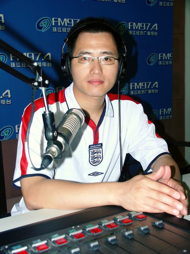 珠江经济电台资深体育节目主持人马孟庆